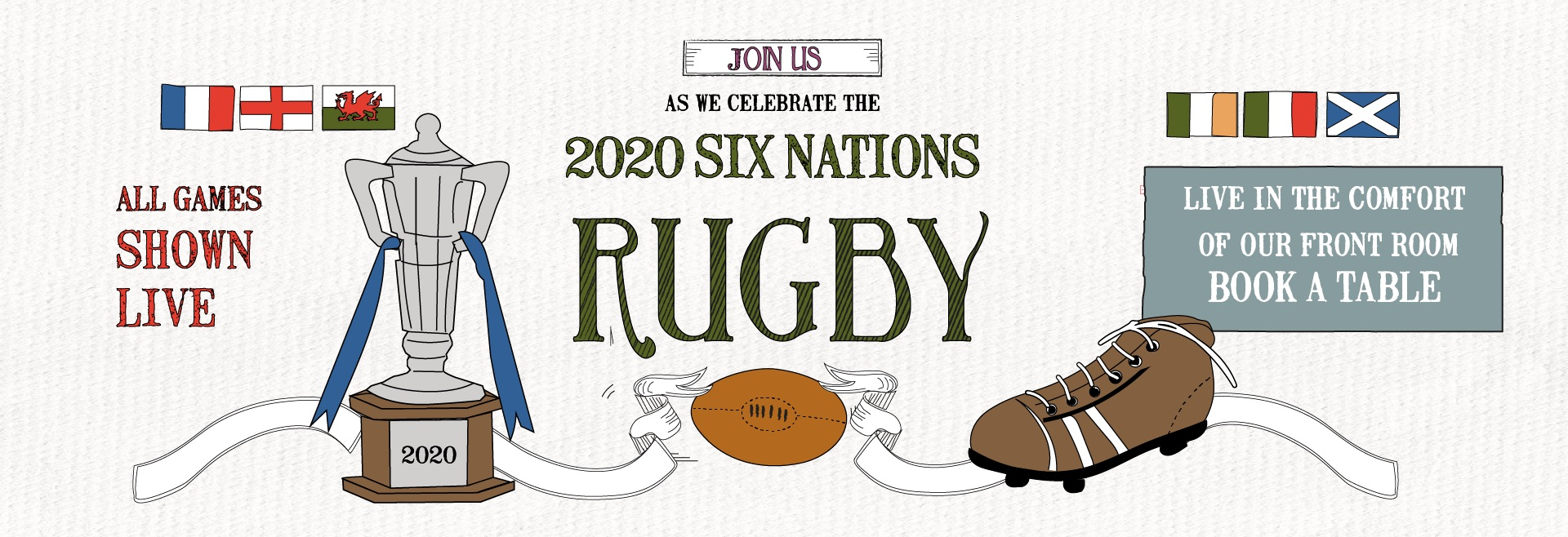 6 Nations Live at Haslemere