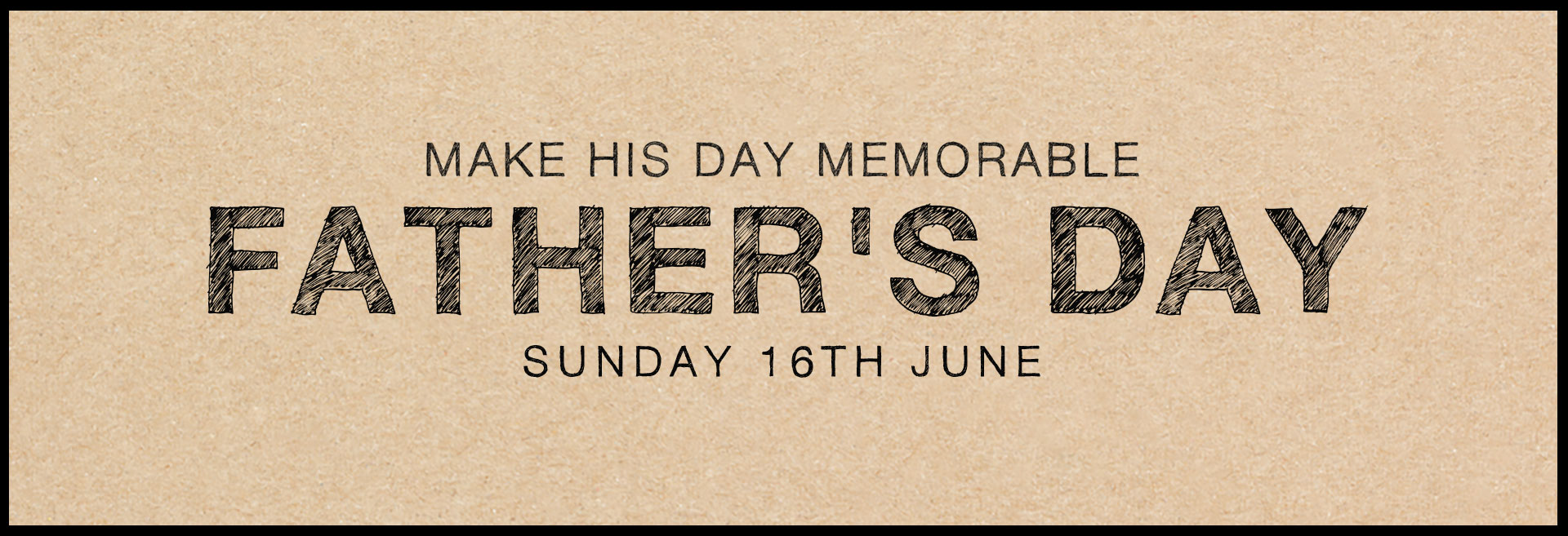 Father's Day at The White Horse Hotel