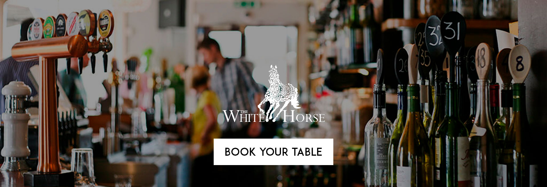 Book Your Table at The White Horse Hotel